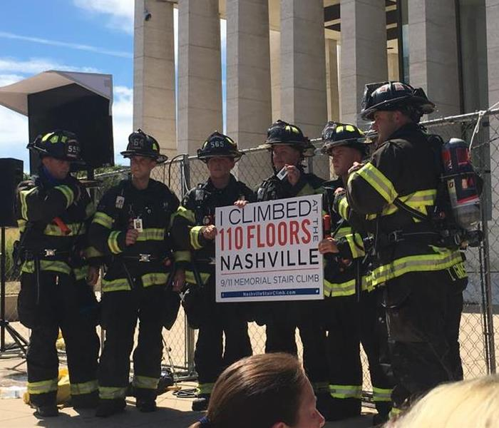 Nashville 9/11 Memorial Stair Climb
